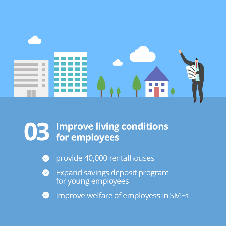 03 Improve living conditions